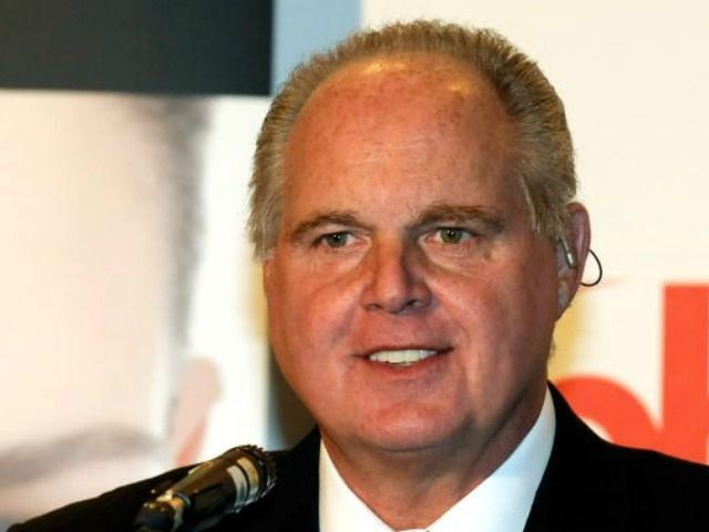 Radio talk show host and conservative commentator Rush Limbaugh, one of the judges for the 2010 Miss America Pageant, speaks during a news conference for judges at the Planet Hollywood Resort & Casino January 27, 2010 in Las Vegas, Nevada. The pageant will be held at the resort on January …