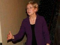 Elizabeth Warren, United States Senator speaks at Consumer Advocate Adam Levin hosts reception and talk with Senator Elizabeth Warren and Heather McGhee, President of Demos on October 23, 2015 in New York City. (Photo by )