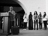 Muslims at SDSU Stage 'Anti-Islamophobia' Rally