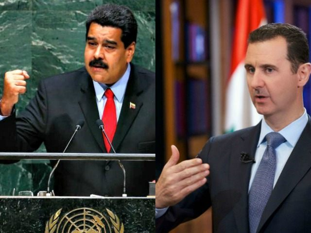 Maduro and Assad AP