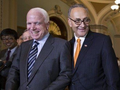 McCain Schumer (J. Scott Applewhite / Associated Press)