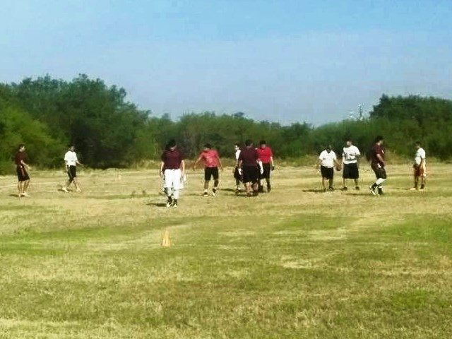 Exclusive border children in laredo play football as for Exclusive bordering