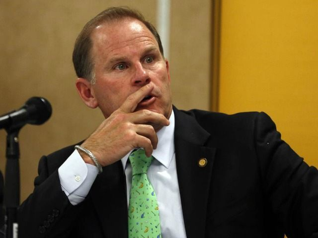 University of Missouri President Tim Wolfe in an April 2014 file photo.