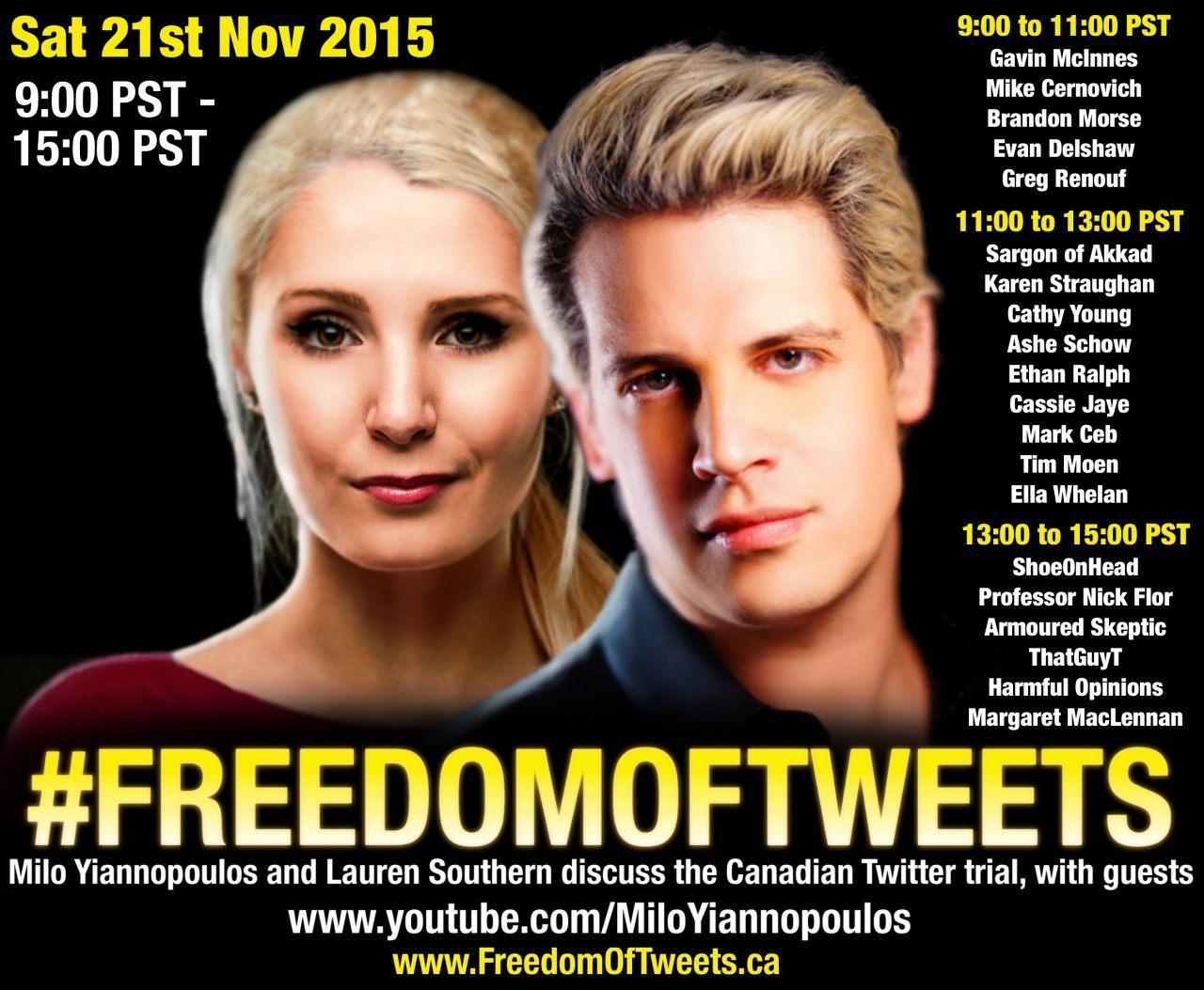 Freedom Of Tweets Stream Raises Over $20,20 For Landmark Legal Battle