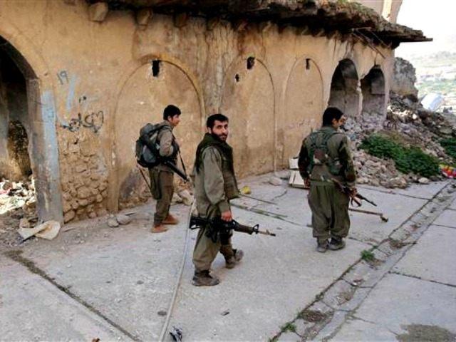 PKK in Sinjar, Iraq AP