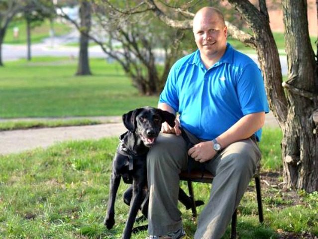 PTSD Vet and Service Dog