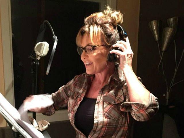 Palin recording Facebook