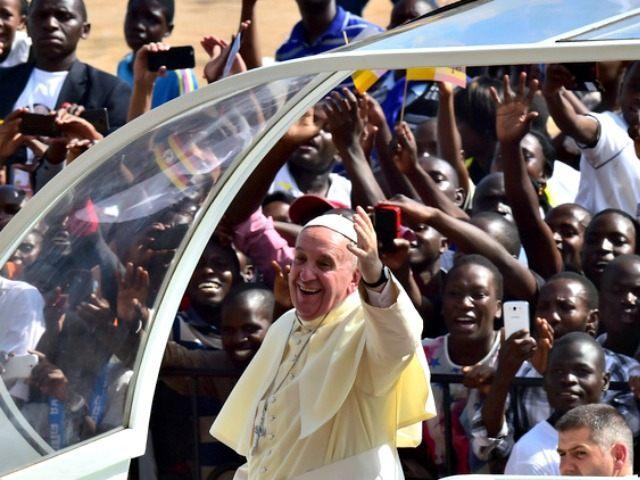 Pope in Uganda Giuseppe CacaceAP