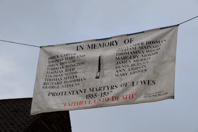 Protestant Martyrs Of Lewes Megawhat