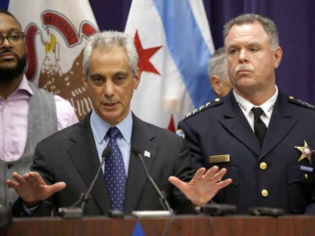 Rahm Emanuel appeals for calm after Laquon McDonald video (Charles Rex Arbogast / Associated Press)