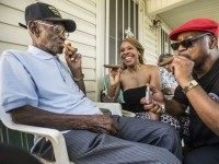 Richard Overton at 109