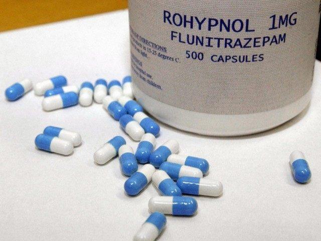 Rohypnol date rape drug (AFP / Getty)