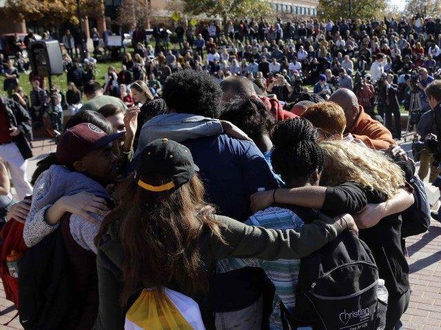 Safe Space Missouri Mizzou (Jeff Roberson / Associated Press) left-wing hate mobs
