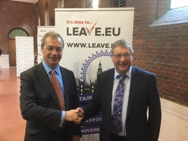 Irish DUP MP Breaks Ranks, Joins With UKIP Campaign to Leave EU