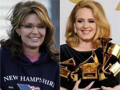 Adele Credits Sarah Palin for Her Success, Palin Sends Clever 'Thank You' Note