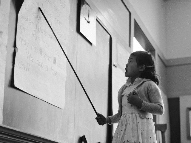Schoolgirl 1955 (Orlando / Hulton Archive / Getty)