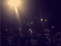 Berkeley riot (Rigel Robinson / Twitter)