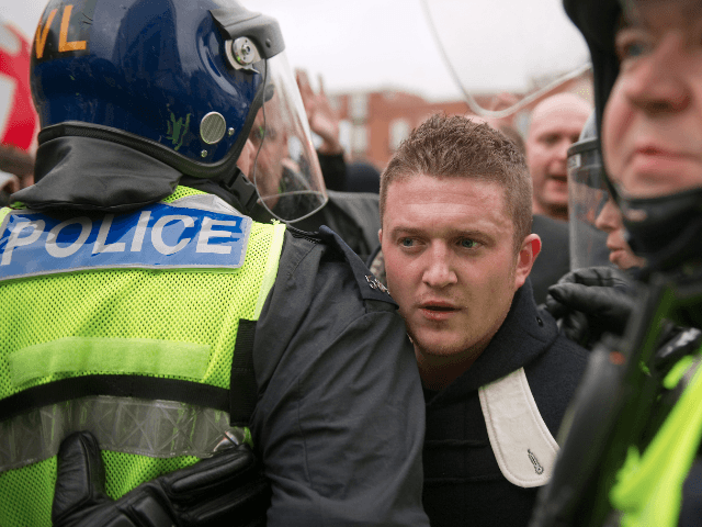 Tommy Robinson English Defence League Stephen Lennon