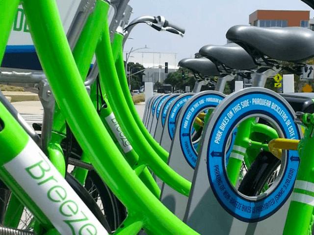 Breeze Bike Share Santa Monica (Facebook)