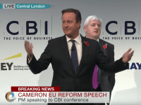 cameron heckled