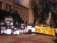 USC Millions Student March (Adelle Nazarian / Breitbart News)