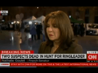 Nathalie Goblet with Amanpour (CNN / Screenshot)
