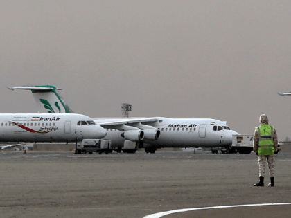 Iran Air and Mahan Air Planes