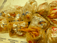 Pork Tamales seized (U.S. Customs and Border Protection)