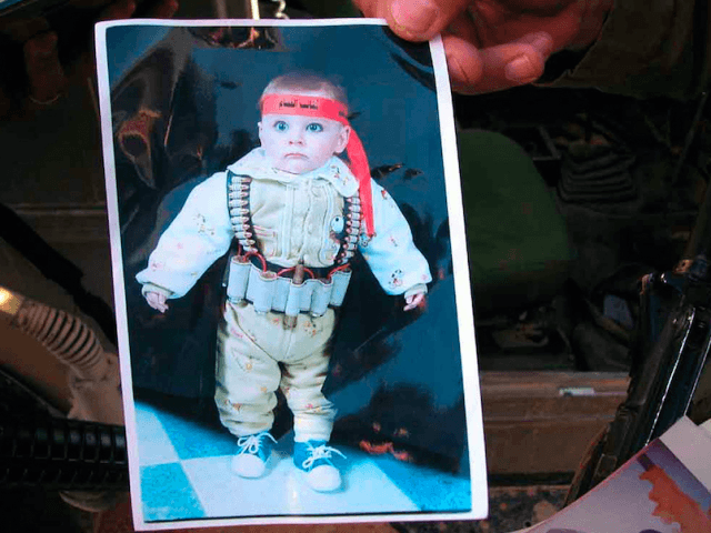 Palestinian child suicide bomber (Israel Defense Forces / Flickr / CC / Cropped)