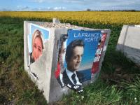 nicolas sarkozy marine le pen French elections