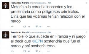 Mexican Politico trashed Paris Supporters