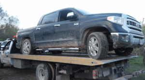 Los Zetas SUV