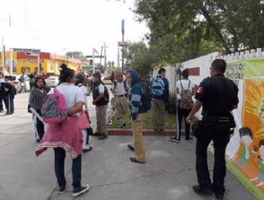 Bomb threat Coahuila
