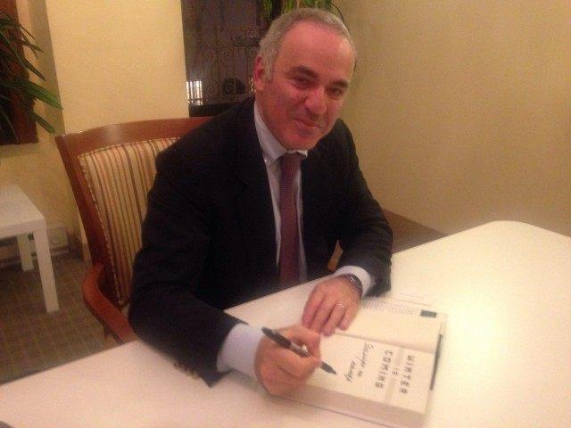 Garry Kasparov (Adelle Nazarian / Breitbart News)