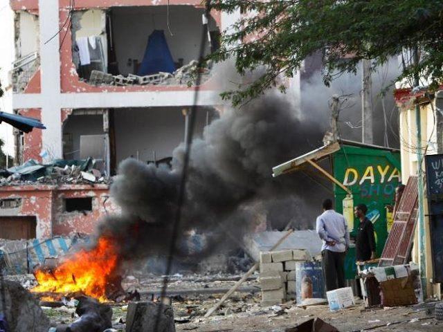 Somalia Hotel Blast
