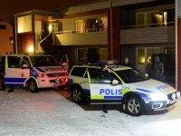 Sweden Police Snow