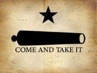 Texas Come and Take It Flag