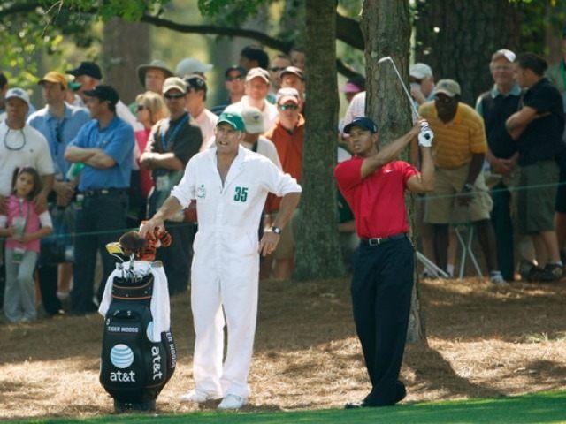 Tiger Woods Steve Williams Masters