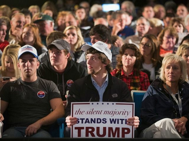 Guests wait for the arrival of Republican presidential candidate Donald Trump at a campaign stop at Iowa Central Community College on November 12, 2015 in Fort Dodge, Iowa. The stop comes on the heals of Tuesday's eight-candidate Republican debate in Milwaukee where a national poll of viewers declared Trump the …