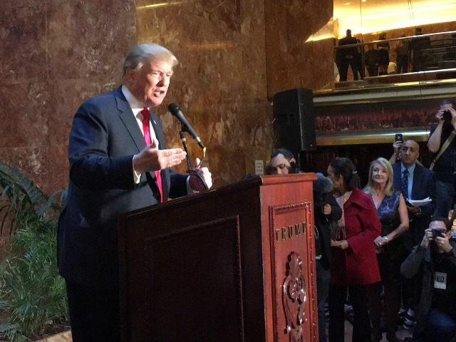 Trump book launch