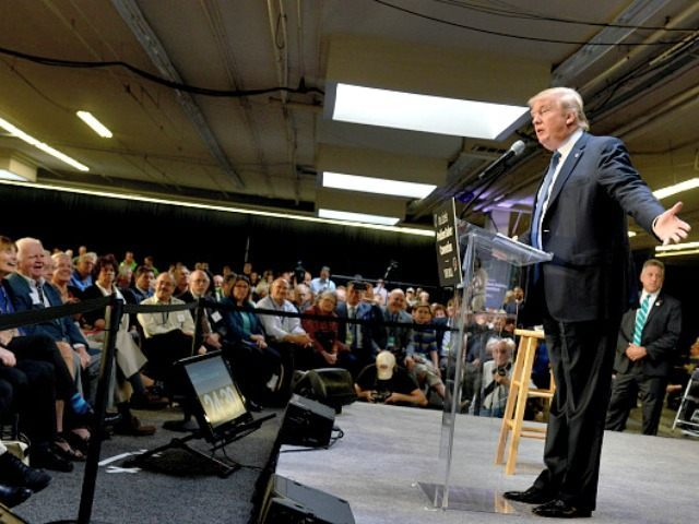 Trump in New Hampshire Darren McCollester Getty