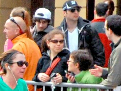 Tsarnaev Brothers at Boston marathon APBob Leonard