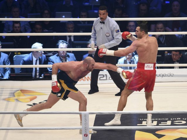 Tyson Fury Wladimir Klitschko AP