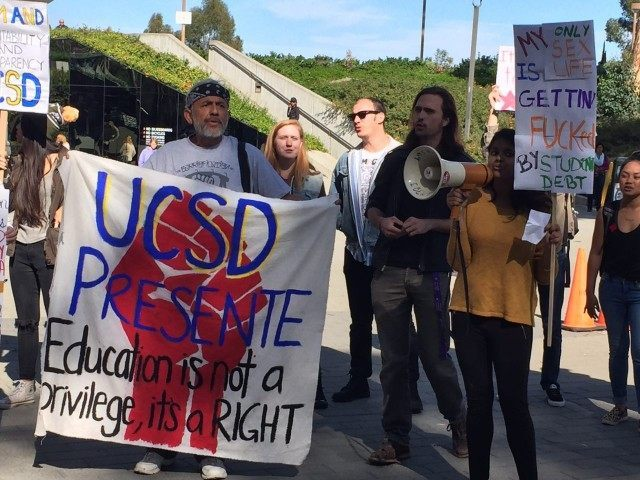 UCSD Million Student March (Michelle Moons / Breitbart News)