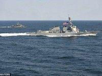 US Warships South China Sea Reuters