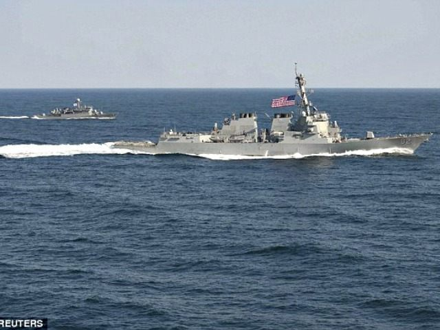 US Warships South China Sea Reuters