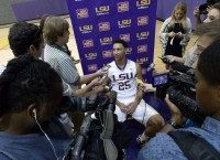 LSU BASKETBALL MEDIA DAY