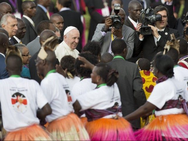 Pope in Africa: 'The Only Thing That Worries Me Are the Mosquitos'