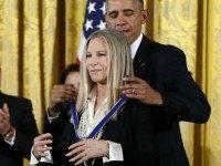 Barbra Streisand, Steven Spielberg Among Obama's 'Extraordinary' Medal of Freedom Recipients