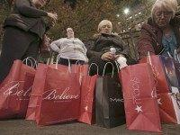 Black Friday Crowds Thin After U.S. Stores Open on Thanksgiving
